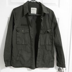 BOGO FREE Green utility long sleeve jacket